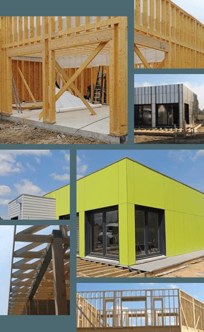 Maison ossature bois sur mesure cub - Garage ossature bois sur mesure ...